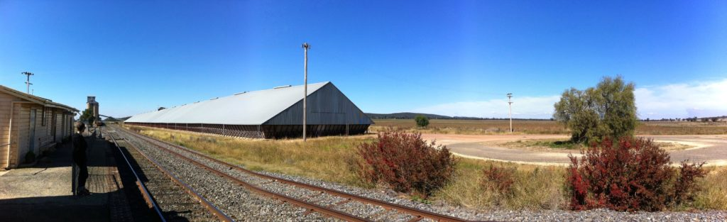railway station and siding Bogan Gate New South Wales
